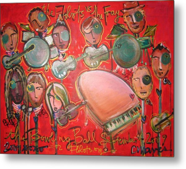 The Fray And The Flobots Metal Print