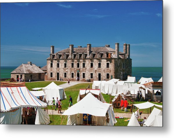 The French Castle 6709 Metal Print