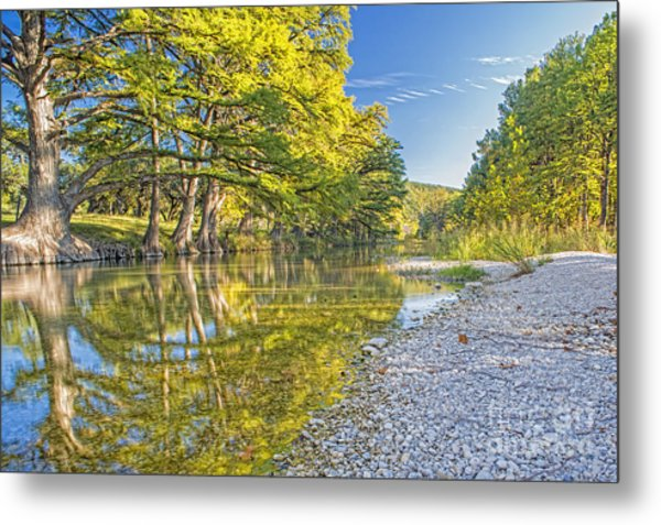 The Frio River In Concan Texas Metal Print by Andre Babiak