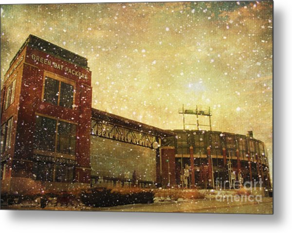 The Frozen Tundra Metal Print