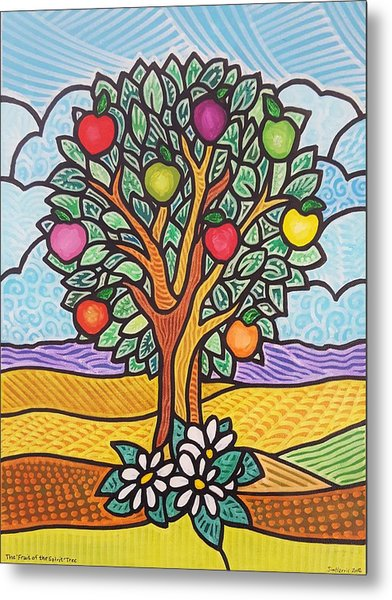 The Fruit Of The Spirit Tree Metal Print