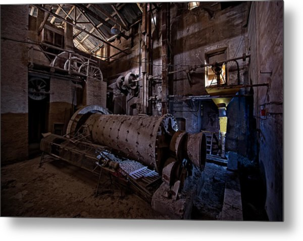 The Furnace And The Rocket 2  La Fornace E Il Razzo 2 Metal Print
