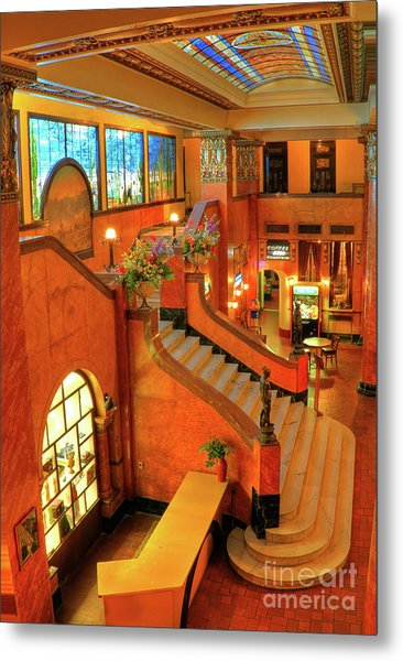 The Gadsden Hotel In Douglas Arizona Metal Print