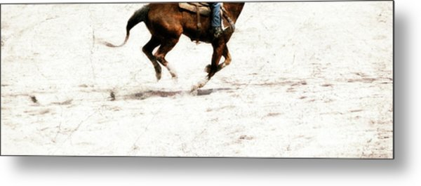 The Galloping  Metal Print by Steven Digman