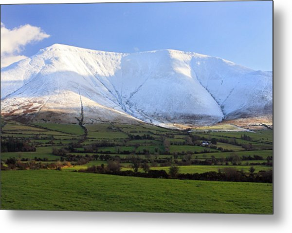 The Galtees  Ireland's Tallest Inland Mountains Metal Print by Pierre Leclerc Photography