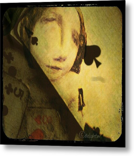 Metal Print featuring the digital art The Game by Delight Worthyn