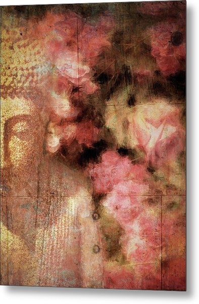 The Garden Buddha 1 Metal Print