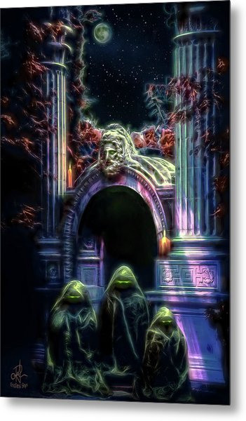 The Gate Keepers Metal Print