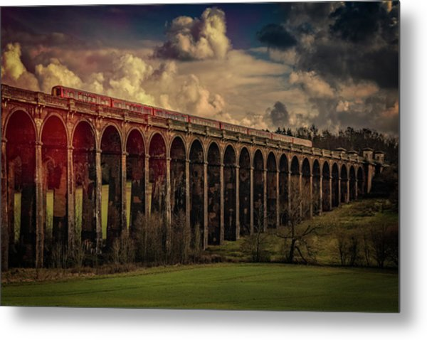 Metal Print featuring the photograph The Gatwick Express by Chris Lord