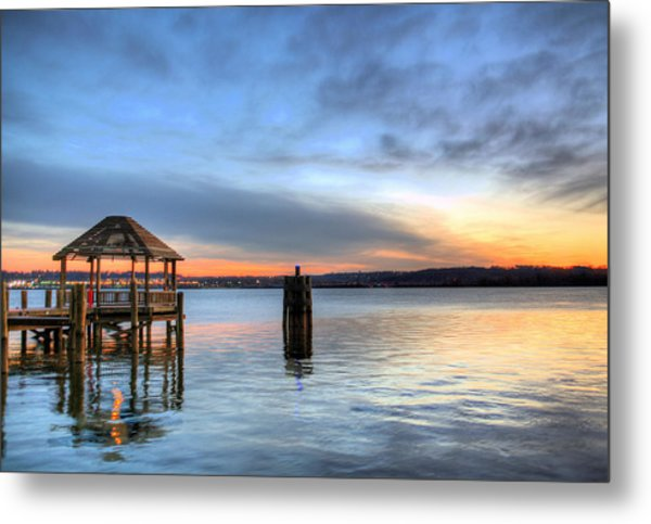 The Gazebo  Metal Print by JC Findley