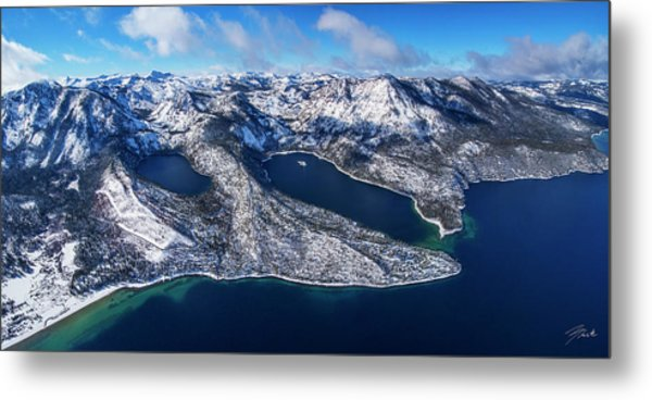 The Gem Of The Sierra - Limited Edition Metal Print