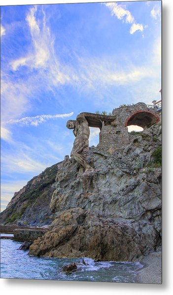 The Giant Of Monterosso Metal Print by Rick Starbuck
