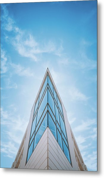 The Glass Tower On Downer Avenue Metal Print