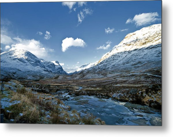 The Glen Of Weeping Metal Print