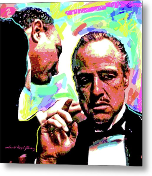 The Godfather - Marlon Brando Metal Print