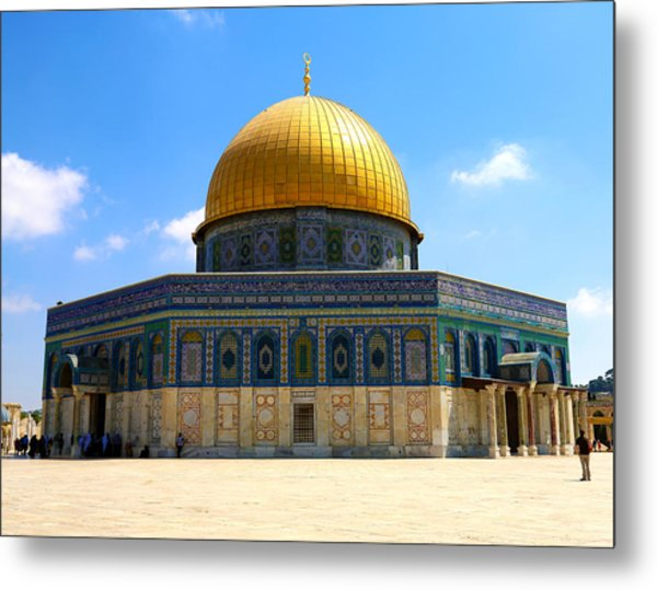 The Gold Dome Metal Print by Heidi Pix