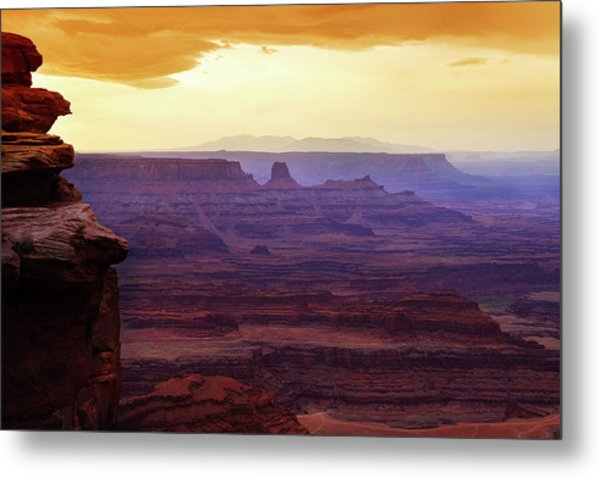 The Gold Light Of Dawn Metal Print