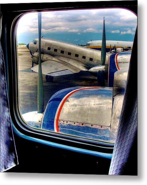 The Golden Age Of Flight -- Color Version Metal Print
