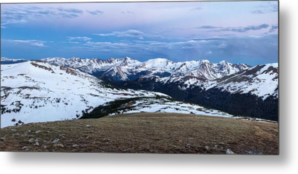 The Gore Range At Sunrise - Rocky Mountain National Park Metal Print