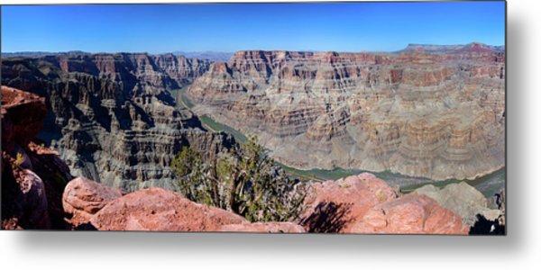 The Grand Canyon Panorama Metal Print