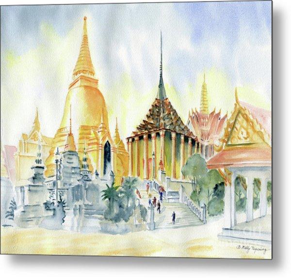 The Grand Palace Bangkok Metal Print