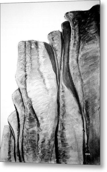 The Great Escarpment  -  Australia Metal Print