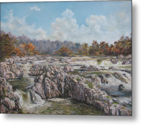 The Great Falls Metal Print