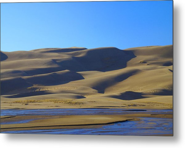 The Great Sand Dunes Up Close Metal Print