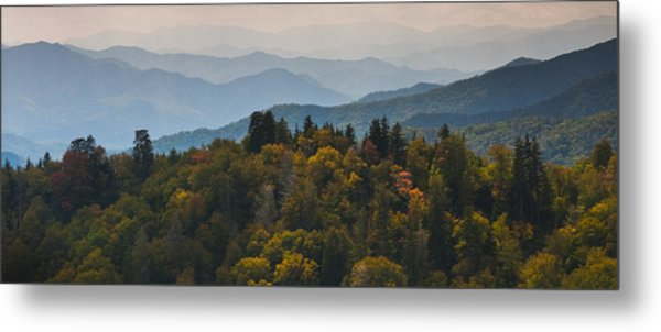 The Great Smokey Mountains Metal Print