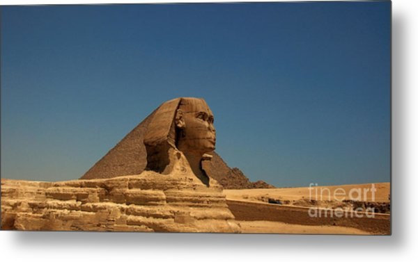 The Great Sphinx Of Giza 2 Metal Print