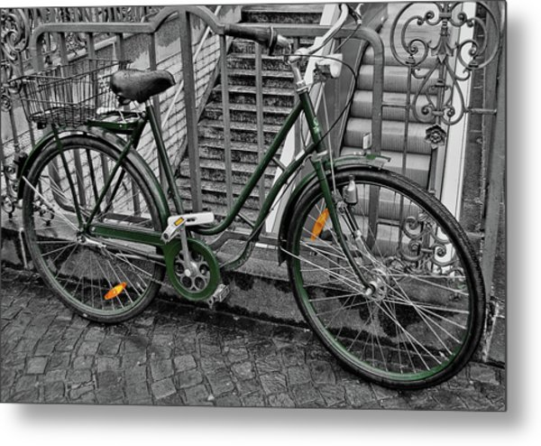 The Green City Metal Print by JAMART Photography