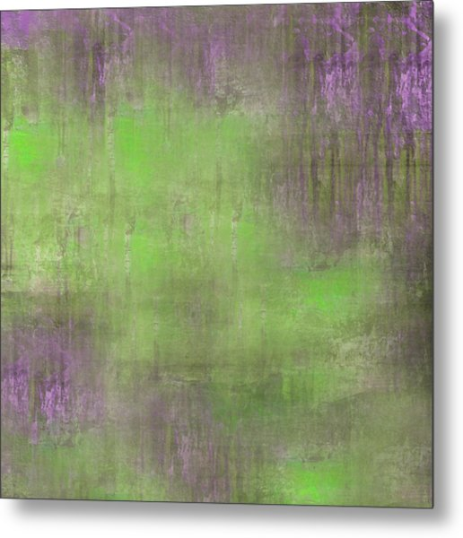 Metal Print featuring the digital art The Green Fog by Mihaela Stancu