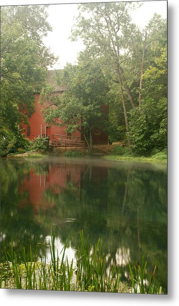 The Grist Mill At Alley Springs Take 3 Metal Print