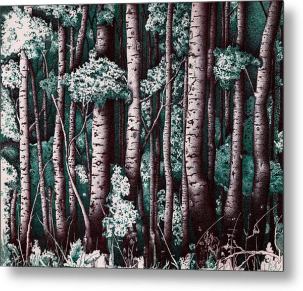 The Grove At Sand Creek Metal Print