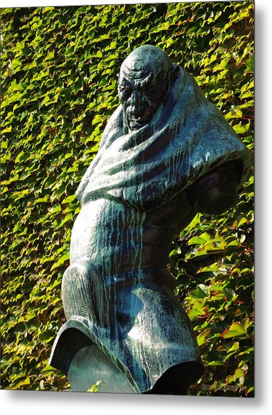 The Guardian Of The Garden Metal Print by Garth Glazier