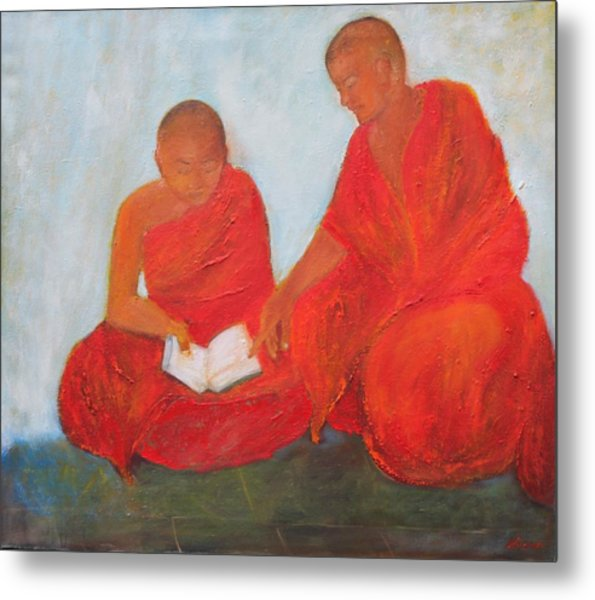 The Guide Metal Print by Neena Alapatt