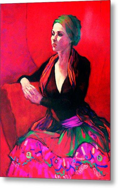 The Gypsy Skirt Metal Print by Roz McQuillan