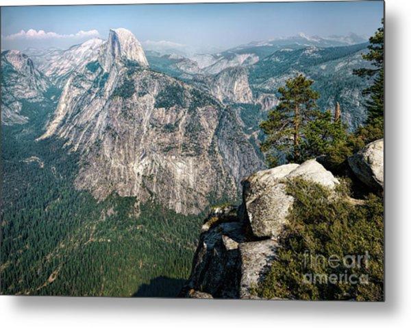 The Half Dome Yosemite Np Metal Print