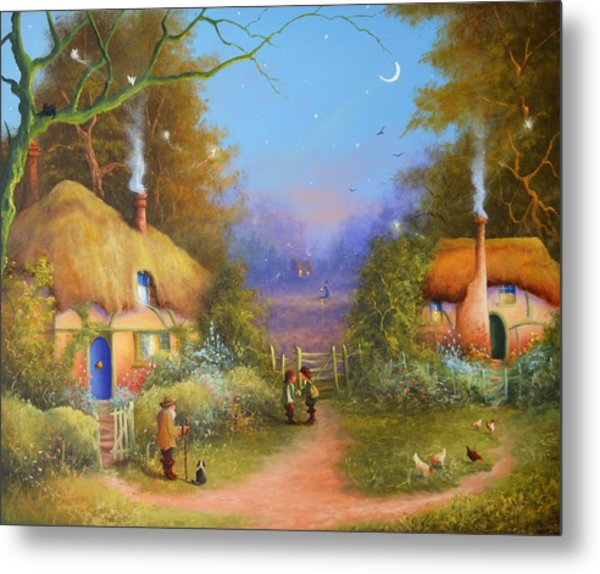 The Hamlet Of Gnarl Mid Summers Eve Metal Print