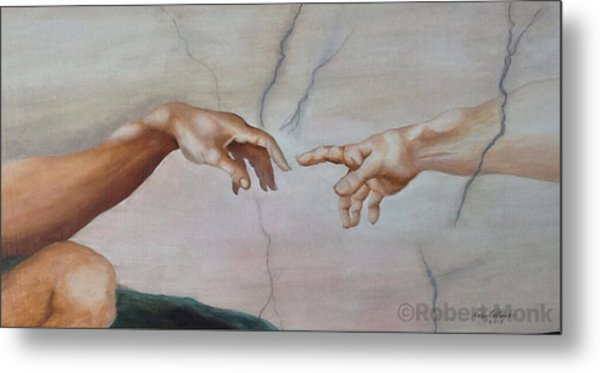 The Hand Of God Metal Print