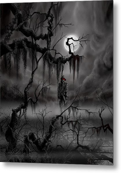 The Hangman Metal Print