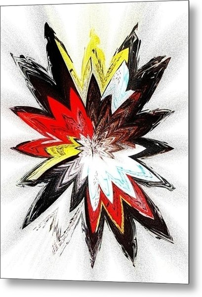 The Happy Asteroids Metal Print