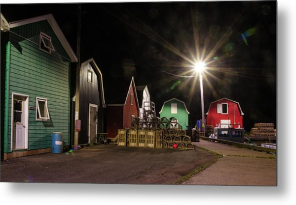 Metal Print featuring the photograph The Harbour At French River, Pei. by Rob Huntley