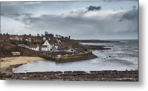 The Harbour Of Crail Metal Print