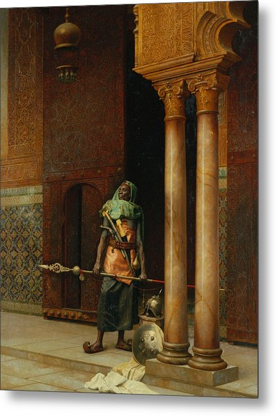 The Harem Guard  Metal Print