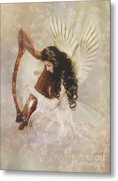 The Harpist Metal Print