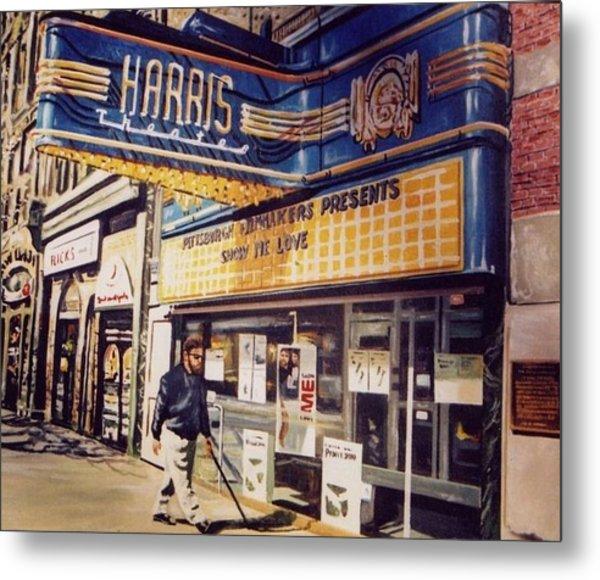 The Harris Theater Metal Print