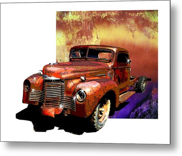 The Harvester Metal Print