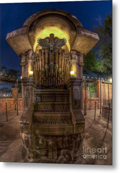 The Haunted Organ Metal Print