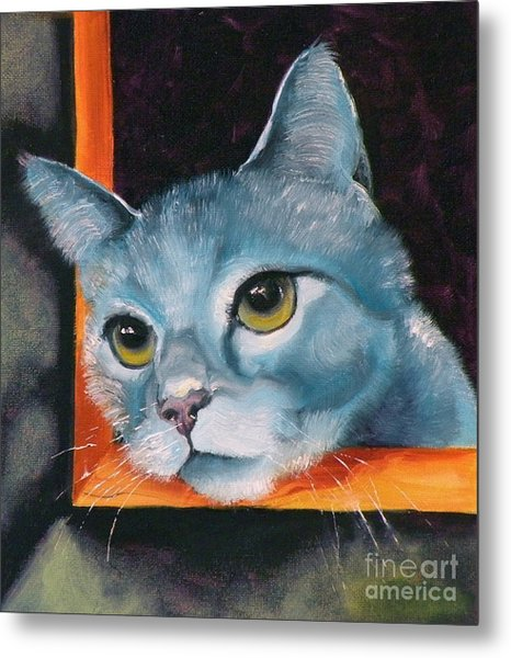 The Heart Is A Lonely Hunter Metal Print by Susan A Becker